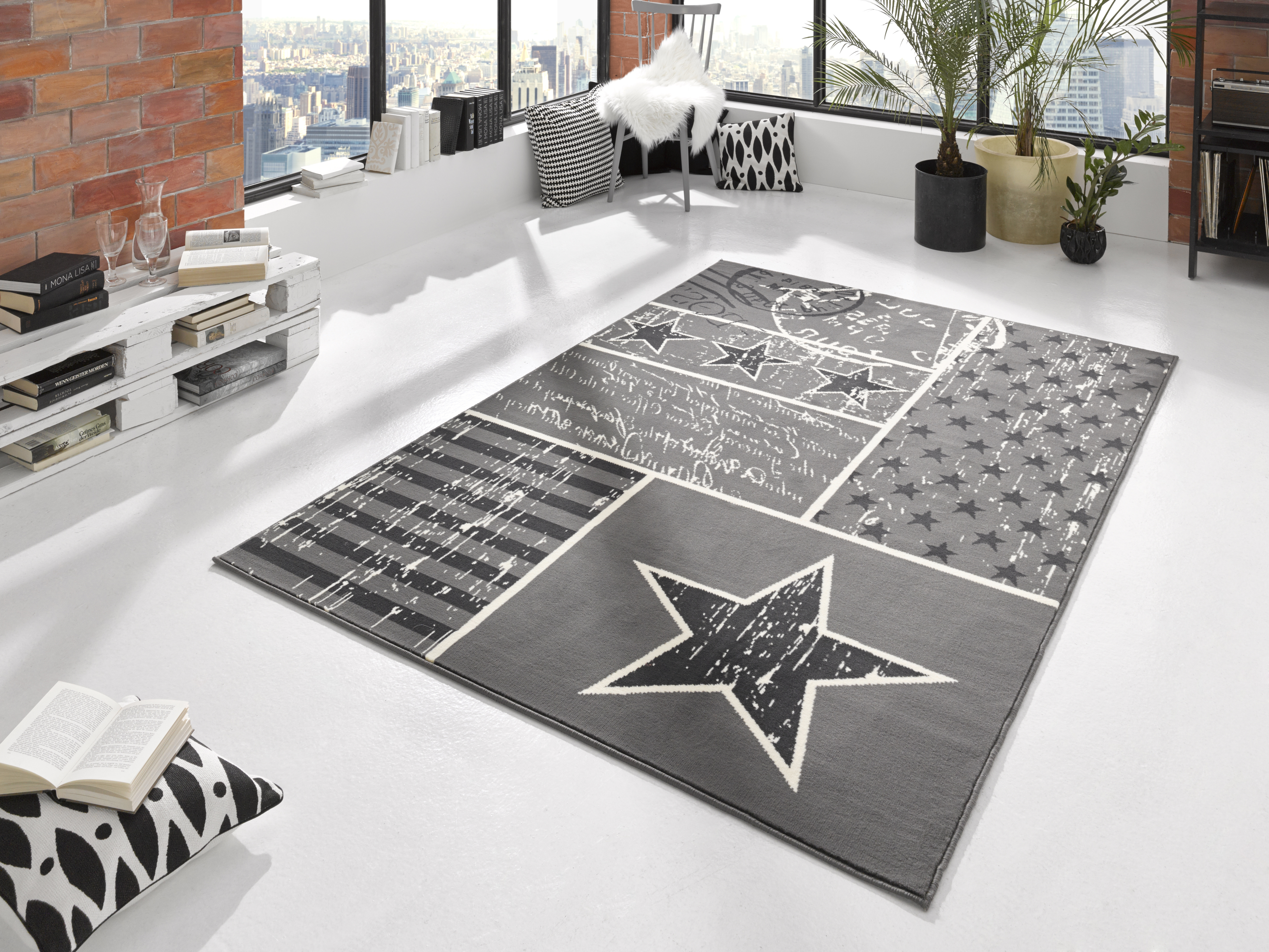 Hanse Home Collection koberce Kusový koberec CITY MIX 102397 140x200cm - 140x200 cm
