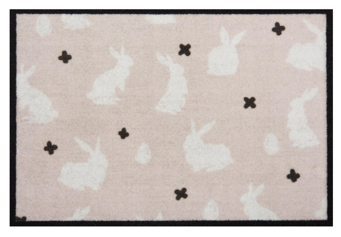 Hanse Home Collection koberce Protiskluzová rohožka Printy 104449 Beige/Cream - 40x60 cm