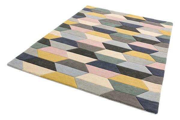 Asiatic London koberce Ručně všívaný kusový koberec Funk honeycomb/pastel - 120x170 cm