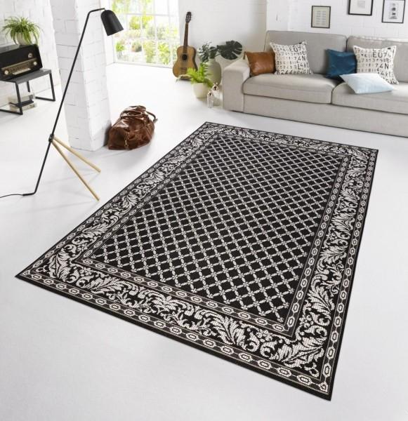 Bougari - Hanse Home koberce Kusový koberec BOTANY Royal Schwarz 102479 - venkovní (outdoor) - 115x165 cm