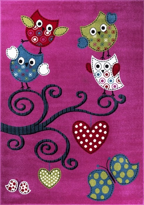 Ayyildiz koberce Kusový koberec Kids 420 lila - 120x170 cm
