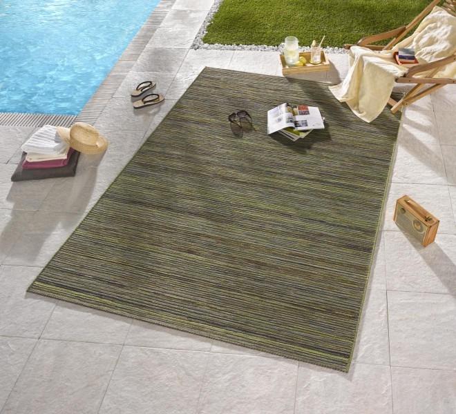 Bougari - Hanse Home koberce Venkovní kusový koberec Lotus Grün Meliert - 200x290 cm