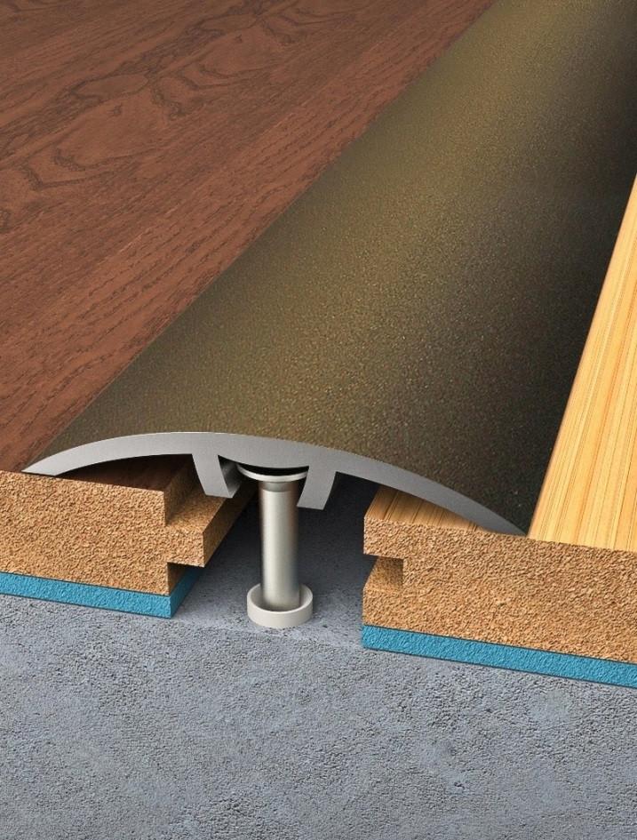 Přechodová lišta Bronz - Lišta 900 (délka) x 30 (šířka) mm