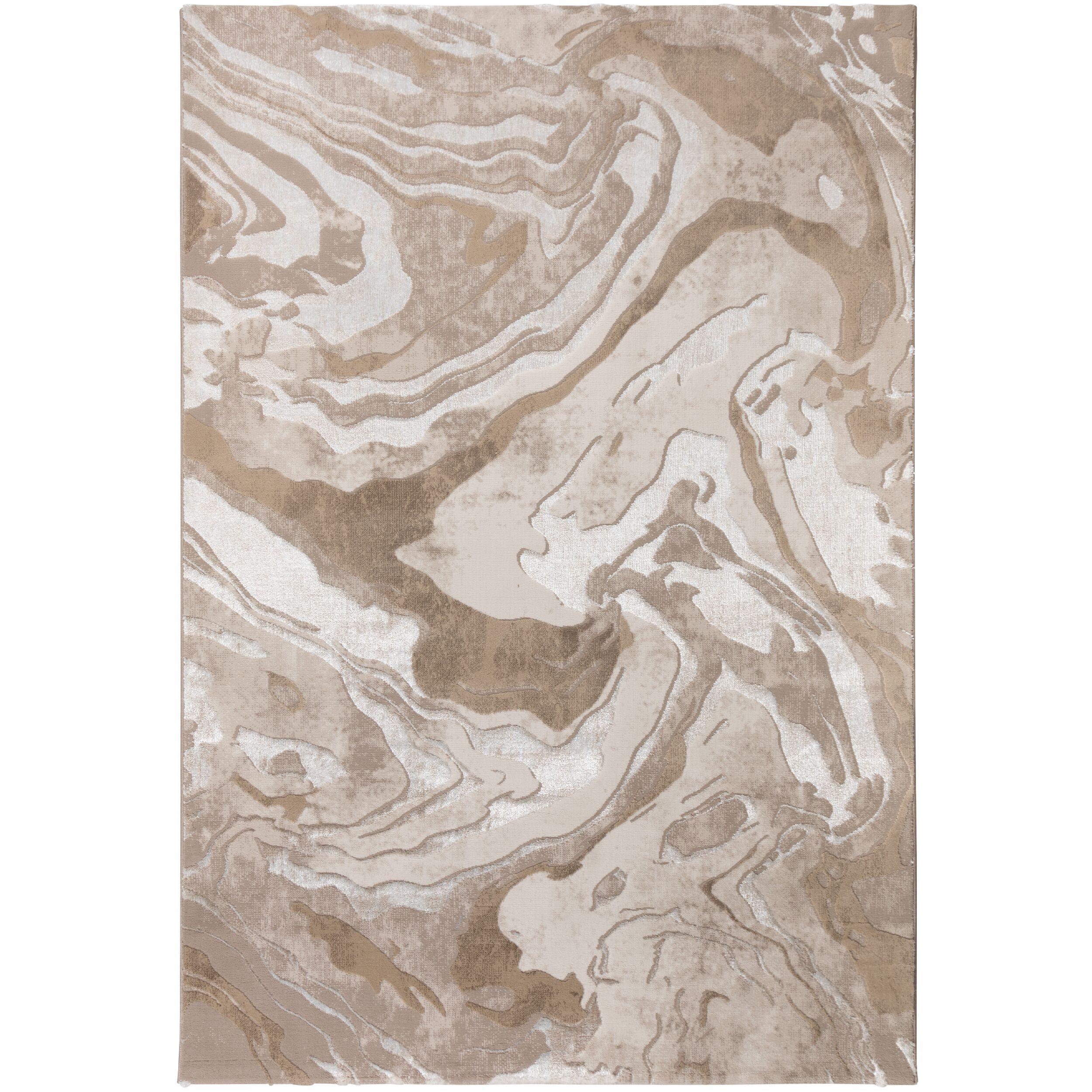 Levně Flair Rugs koberce Kusový koberec Eris Marbled Natural - 200x290 cm Hnědá